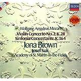 LP Wolfgang Amadeus Mozart - Violin Concerto No. 2 KV 211, Sinfonia Concertante KV 364
