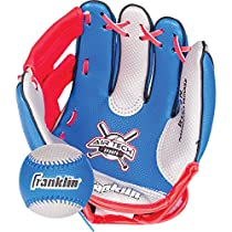 Franklin Sports Air Tech Soft Foam Baseball Glove and Ball Set - Special Edition