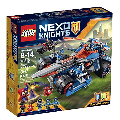 LEGO NexoKnights Clay's Rumble Blade