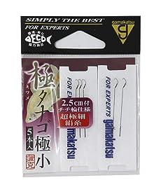 がまかつ(Gamakatsu) 糸付 極タナゴ 極小 超極細ハリス トクチュウ