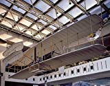 Photography Poster - Wright Brothers plane in the Air and Space Museum in Was...