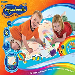 Tomy 6189 Rainbow Aquadoodle Aqua Draw Drawing Mat