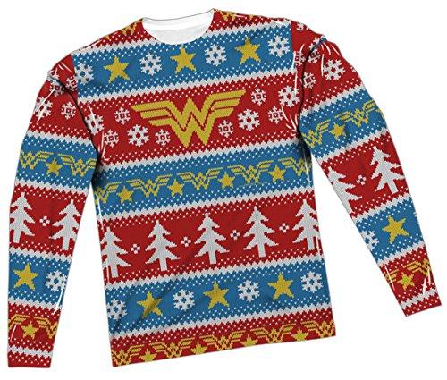 Ugly Christmas Sweater -- Wonder Woman T-Shirt