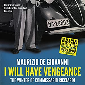 I Will Have Vengeance Audiobook
