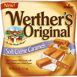 Soft Creme Caramels, Original, 4.5 Ounce (Pack of 12) : Caramel ...