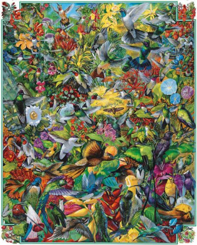 Hummingbirds - 1000 Piece Jigsaw Puzzle