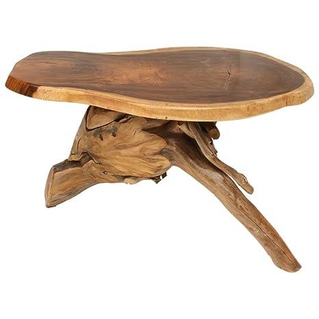 Teca products TPWOOD TI820 muebles y decoración raíz mesa de sofá mesa Bar hecho a mano madera maciza preciosos único estable rústica campestre unidades individuales