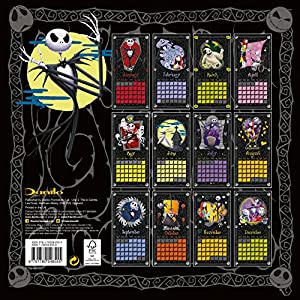 Official Nightmare Before Christmas 2016 Square Wall Calendar