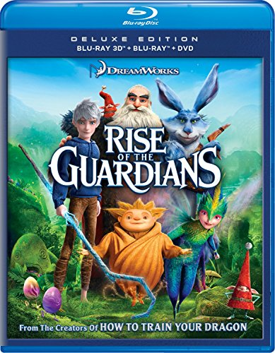 Blu-ray 3D : Rise of the Guardians (Ultraviolet Digital Copy, , AC-3, Dubbed, Dolby)