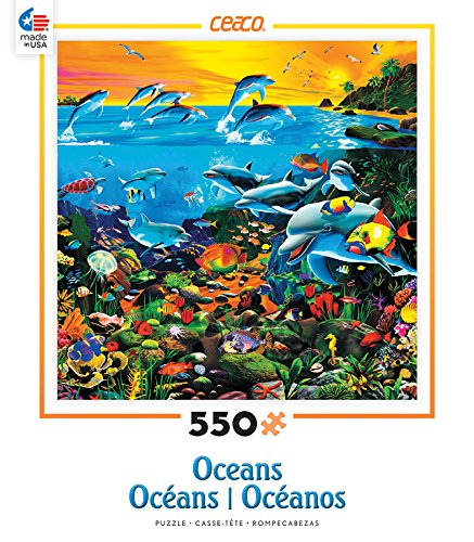 Ceaco Oceans - Tropical Island Waters Puzzle