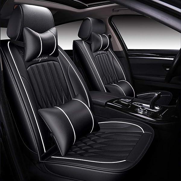 Hyundai i10 i20 RED /& BLACK Cloth Car Seat Cover Full Set Split Rear Seat