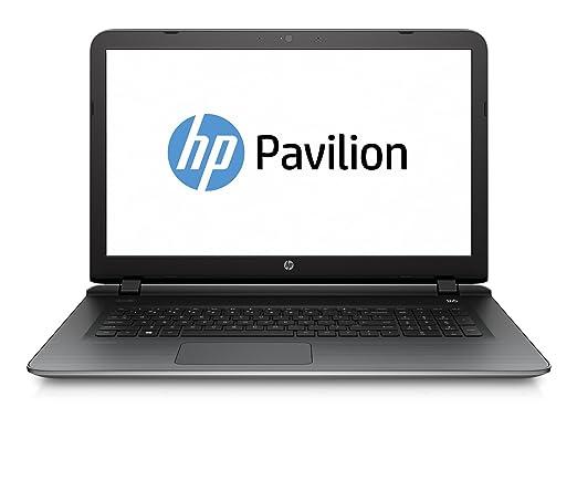 """HP Pavilion 17-g119nf PC portable 17.3"""" Argent (Intel Pentium, 8 Go de RAM, Disque Dur 1 To, Windows 10)"""