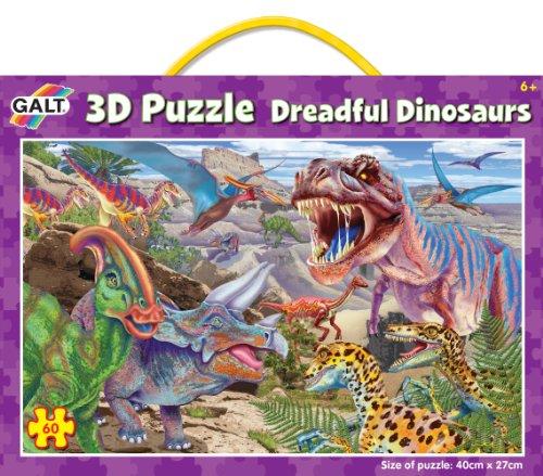Galt Toys Inc Dreadful Dinosaurs 3D Changing Puzzle - 1