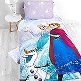 Die-Eisknigin-Kinder-Bettwsche-Perkal-Baumwolle-Bettset-Disney-Frozen-Elsa-Anna-Olaf