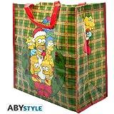 The Simpsons Einkaufstasche / Shopping Bag: Christmas Family