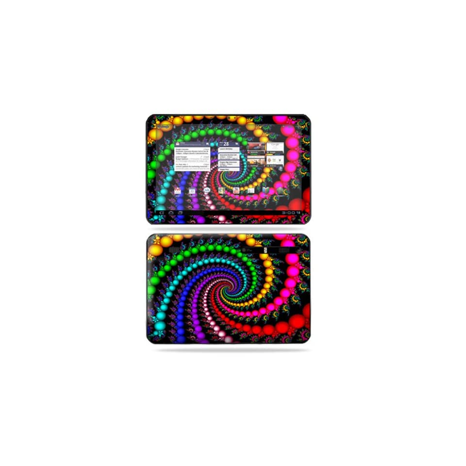 Protective Vinyl Skin Decal Cover for Motorola Xoom Tablet sticker skins Trippy Spiral