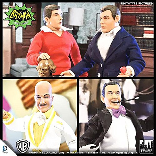 Batman Classic TV Series 8 Inch Action Figures Series 2: Set of all 4 Figures