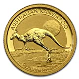 オーストラリア カンガルー2015年製 24K 99.99%の純金製 1/10オンス 金貨 3.11g ゴールド コイン インゴット 純金 カプセル クリアーケース付き