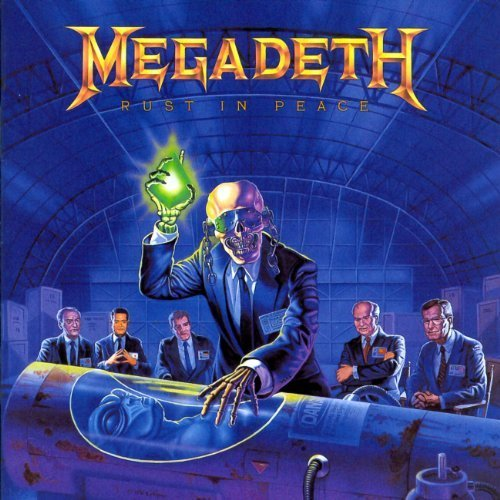 Rust In Peace by Megadeth Extra tracks, Original recording remastered edition (2004) Audio CD by Megadeth