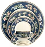 Wedgwood Blue Siam 5pc Place Setting WGBS5PC