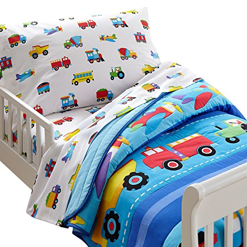 Olive Kids Trains, Planes, Trucks Light Weight Toddler Comforter (Truck Comforter compare prices)
