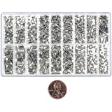 900pc Miniature Screw Assortment Eyeglasses Watches Jewelry Cell Phone Electronic Devices