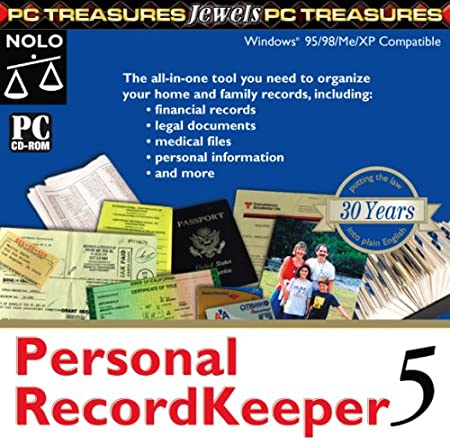 Personal Recordkeeping 5