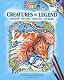 img - for Creatures Of Legend: Coloring With Arty book / textbook / text book