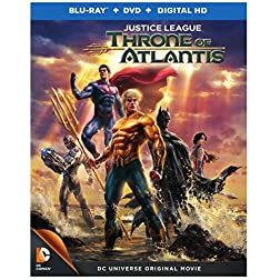 Justice League: Throne of Atlantis [Blu-ray]