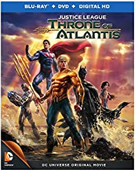 Justice League: Throne of Atlantis (Blu-ray + DVD)