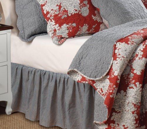 Greenland Home Lorraine Bed Skirt, Queen front-691404