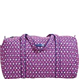 Vera Bradley Luggage Womens Large Duffel Katalina Pink Diamonds Duffel Bag