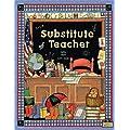 Teacher Created Resources Substitute Teacher Pocket Folder from Susan Winget (4836)