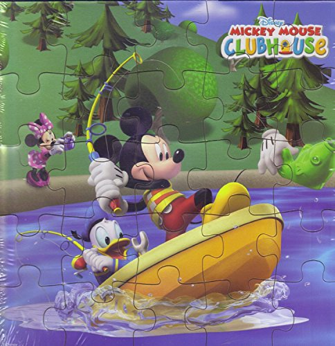 1 piece of Disney Mickey Mouse 24pc 6-Astd. Jigsaw Puzzle - 1