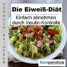 Die Eiweiß-Diät: Einfach abnehmen durch Insulinkontrolle Hörbuch von Alessandro Dallmann Gesprochen von: Michael Freio Haas
