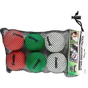 Buy Franklin Sports Lacrosse Balls - 6 Pack by Franklin