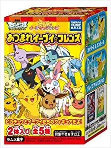 Atsumare ON BOX 10 pieces Eevee Friends (Candy Toys & gum) (japan import)