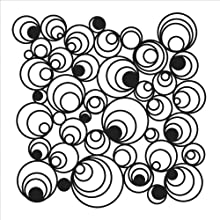 Crafters Workshop Crafter39s Workshop Template 6 by 6-Inch Mod Spirals