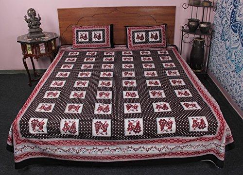 gujrati-dandiya-bedruckt-ethnische-100-baumwolle-handgefertigt-3-pcs-bett-bettwasche-set