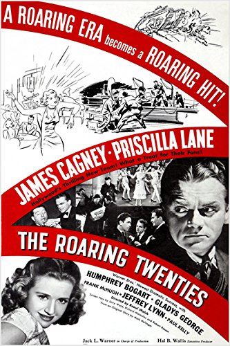 THE ROARING TWENTIES classic movie poster JAMES CAGNEY b/w photos 24X36 (reproduction, not an original) NEW (Classic Movie Pictures compare prices)