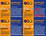 JETPLAY 2 X SETS Compatible T0715 (T711-T714) 2 x Full Sets of High Yield (19ml) Black/Cyan/Magenta/Yellow Ink Cartridges for Epson Stylus D78 D92 D120 DX4000 DX4050 DX4400 DX4450 DX5000 DX5050 DX6000 DX6050 DX7000F DX7400 DX7450 DX8400 DX8450 DX9400P S2