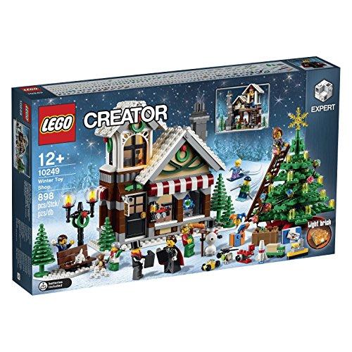 Lego - Creator Expert 10249, Negozio di Giocattoli Invernale