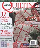McCalls Quilting (1-year auto-renewal)