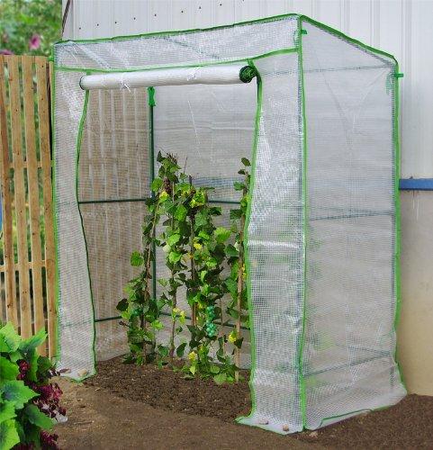 xl gew chshaus treibhaus tomaten greenhouse fr hbeet pflanzenhaus folienzelt 200 x 78 x 198 cm. Black Bedroom Furniture Sets. Home Design Ideas