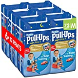 Huggies Pull-Ups Night-Time for Boys, Large, 12 Pants for Toilet Training (Pack of 6, Total 72 Pants)