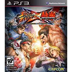 Street Fighter X Tekken PS3 Video Game