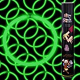 CoolGlow Educational Products - 50 8 Glow Stick Bracelets Green Glowsticks - Simply Snap And Shake