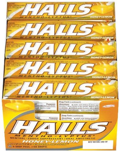 halls-base-cough-suppressant-oral-anaesthetic-drops-advanced-vapour-action-honey-lemon-20-pack