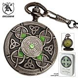 61Pk42c7h9L. SL160  Celtic Pocket Watch And Tin With Free Lighter