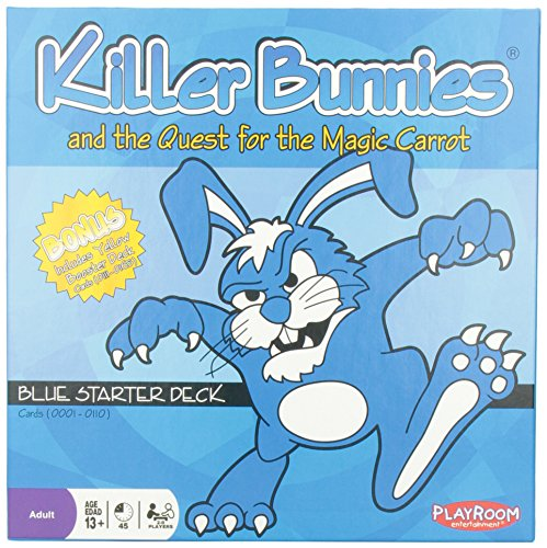 Killer Bunnies and the Quest for the Magic Carrot; Blue Starter Deck (Bunny Blue compare prices)